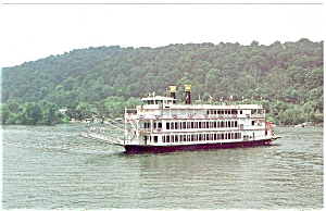 MV West Virginia Belle Postcard p5682 (Image1)