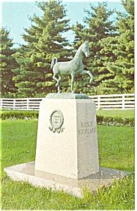 American Saddle Horse Museum Statue p5700 (Image1)