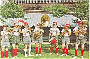 Frankenmuth, MI Om-Pah-Pah Band Postcard (Image1)