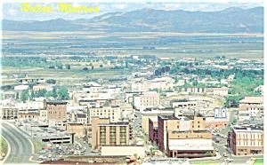 Helena MT Skyline Postcard p5712 (Image1)