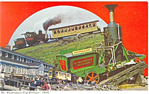 Mt Washington Cog Railway (Image1)