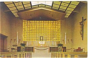 Farmington Michigan Monastery Postcard p5847 (Image1)