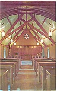 University of Indiana Beck Chapel Interior Postcard p5849 (Image1)