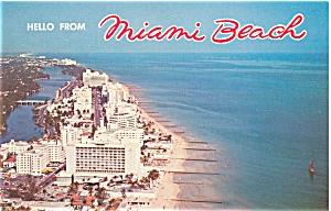 Miami Beach FL Ocean Front Hotels p5860 (Image1)