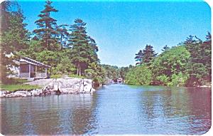 Mollie s Gut Thousand Islands NY Postcard p5865 (Image1)