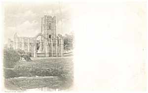 Fountains Abbey  Great Britain Postcard p5900 (Image1)