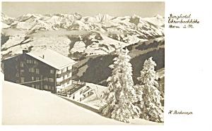 Austria Hotel Ehrenbachhome Postcard (Image1)