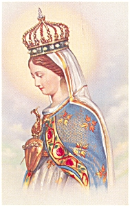Our Lady Of The Cape,national Shrine Canada Postcard