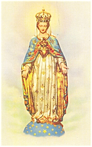 Our Lady Of The Cape Spiritual Queen Of Canada Postcard P5926