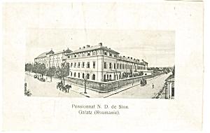 Pensionnat N D de Sion Romania Postcard p5980 (Image1)