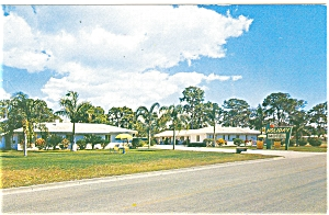 Holiday Motel Sarasota Florida  Postcard (Image1)