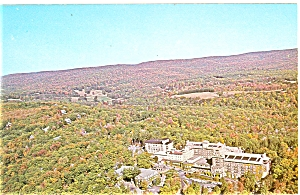 The Inn At Buck Hills Falls Early Fall Postcard P6032