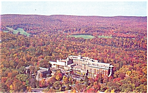 The Inn At Buck Hills Falls Late Fall Postcard P6033