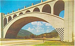Delaware Water Gap Old Bridge Postcard p6038 (Image1)