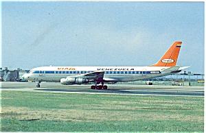 Venezuela DC-8 Postcard p6078 (Image1)