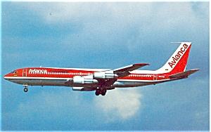 Avianca 707 Postcard p6081 (Image1)