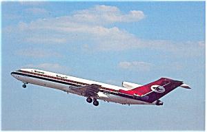Yemenia Yemen Airways 727 Postcard p6085 (Image1)