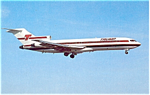 Trump Shuttle 727 Postcard p6088 (Image1)