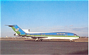 Air Florida Boeing 727 Postcard p6092 (Image1)
