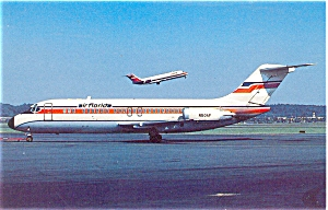 Air Florida DC-9 Postcard  p6093 (Image1)