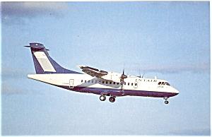 Intair Canada ATR 42 Postcard p6097 (Image1)