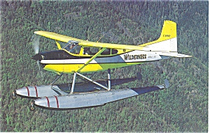 Wilderness Airline Cessna Skywagon Postcard (Image1)