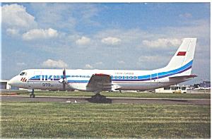Aeroflot IL-114 Postcard (Image1)