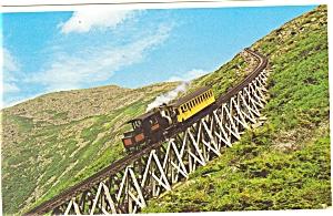 Mt Washington NH Cog Railway Postcard p6144 (Image1)