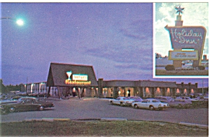Gaylord MI Holiday Inn Postcard p6154 (Image1)