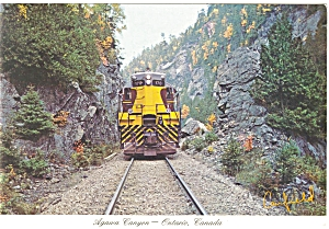 Agawa Canyon Tour Train Postcard p6155 (Image1)