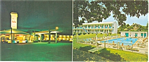 The Charles  Motor Inn Hyannis MA Postcard p6209 (Image1)