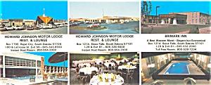 Howard Johnson s Motor Lodges SD Postcard p6210 (Image1)