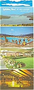 Holiday Inn Lake George NY Postcard p6211 (Image1)