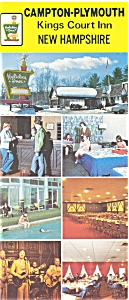Holiday Inn Campton Plymouth NH Postcard p6213 (Image1)