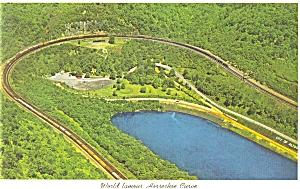 World Famous Horseshoe Curve Postcard p6289 (Image1)
