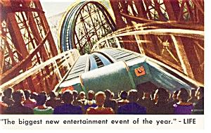 Philadelphia PA Boyd Theatre Cinerama Postcard p6492 (Image1)