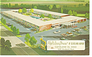 Cleveland OH Holiday Inn Postcard p6509 (Image1)
