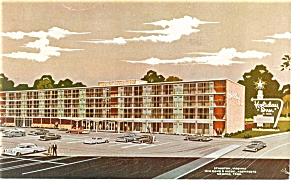 Staunton VA  Holiday Inn Postcard p6554 (Image1)