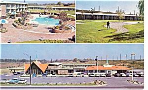 Weldon NC Howard Johnson's Motor Lodge Postcard p6562 (Image1)