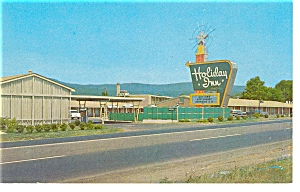 Roanoke, VA, Holiday Inn Postcard (Image1)