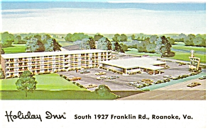 Roanoke, VA, Holiday Inn Franklin Road Postcard (Image1)