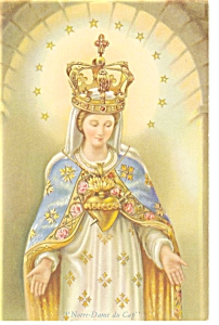 Our Lady of The Cape Miraculous Statue Postcard	 p6582	 (Image1)