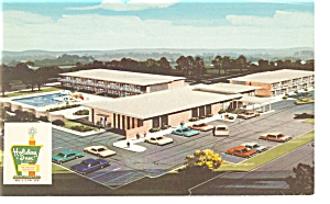 Roanoke Rapids NC Holiday Inn Postcard	p6585		 (Image1)