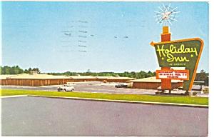 Raleigh NC Holiday Inn Postcard p6587 (Image1)