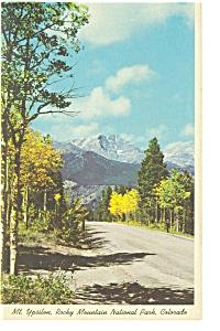 Mt Ypsilon Rocky Mountain National Park CO Postcard p6601 (Image1)