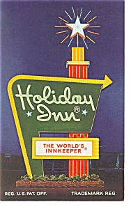 Kent  OH  Holiday Inn Sign Postcard p6603 (Image1)