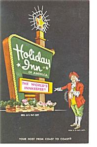 Camden SC Holiday Inn Sign Postcard p6604 (Image1)