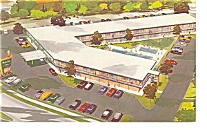 Roanoke, VA, Holiday Inn on US 460  Postcard (Image1)