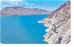 Wyoming, Shoshone Reservoir, Cody Road Post card (Image1)