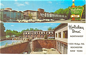 Rochester NY Holiday Inn Northwest Postcard p6628 (Image1)